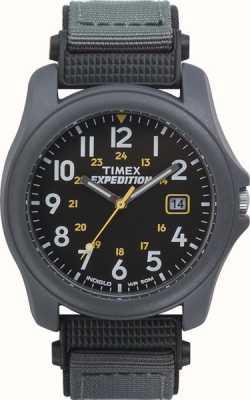 Timex Dunkelgraue Herren-Expeditionsuhr mit Nylonarmband T42571