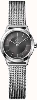 Calvin Klein Damen Edelstahlarmband mit Seil Muster K3M23124