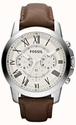 Fossil Herren Chronograph Lederarmband FS4735