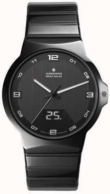 Junghans Force-Herren Keramikgehäuse Uhr 018/1132.44