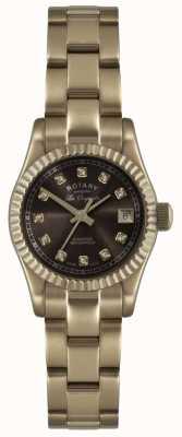 Rotary Roségold der Damen les originales verbier watch ex-display LB08153/16EX-DISPLAY