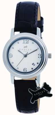 Radley Darlington schwarzes Lederband Uhr RY2007