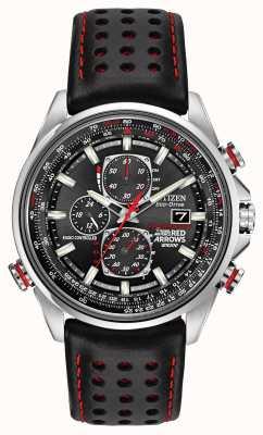 Citizen Gent roten Pfeile an d9 Chronograph Eco-Drive-Uhren AT8060-09E
