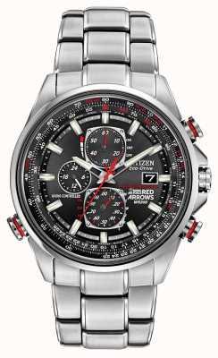 Citizen Gent's rote Pfeile auf der D9 Chronograph Eco-Drive Uhr AT8060-50E