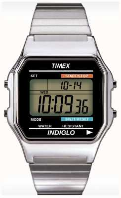 Timex Gent indiglo Alarm Chronograph T78587