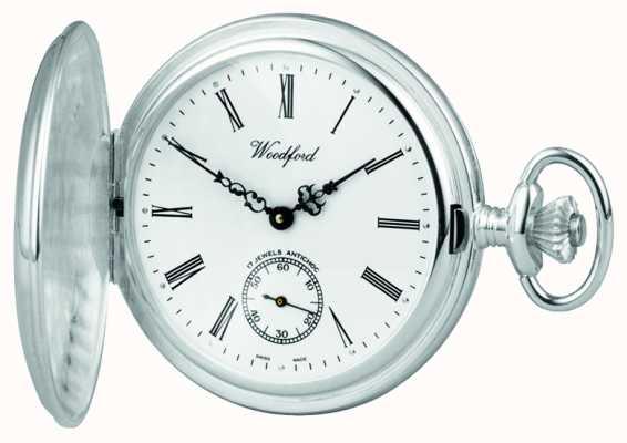 Woodford Silber Jäger Taschenuhr 1064