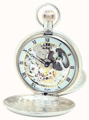 Woodford Silber Doppeldeckel Taschenuhr 1065
