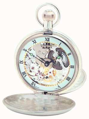 Woodford Silber Doppeldeckel Taschenuhr 1066