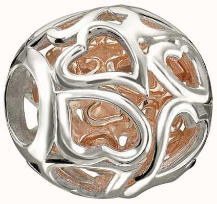 Chamilia Rose Gold-Herzen erobert 2010-3092