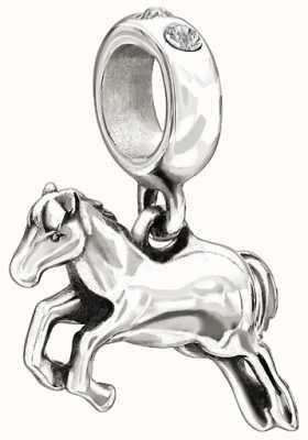 Chamilia Sterling Silber mit Stein - Pferd - klar swarovski 2025-1010