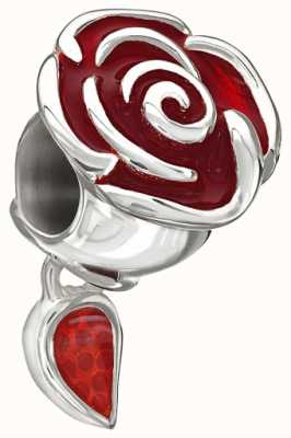 Chamilia Disney - belle verzauberten rose - rot emailliert 2020-0707