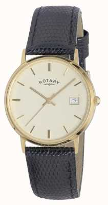Rotary Mens 9ct Gold Fall Edelmetalle GS11476/03