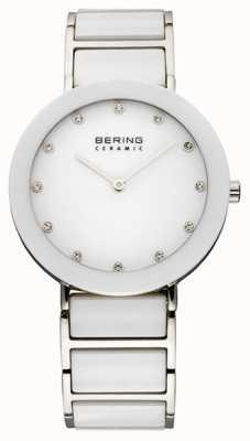Bering Keramik- und Metall-Armbanduhr 11435-754