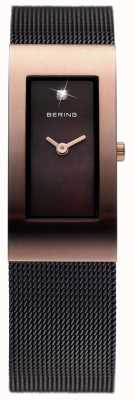 Bering Damen Edelstahl analoge Uhr des Quarzes 10817-262
