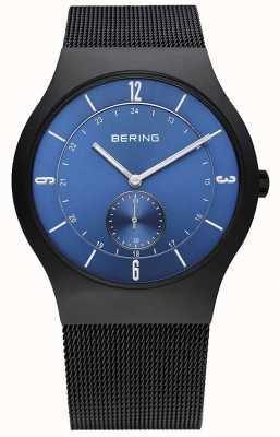 Bering Herrenuhr Edelstahl analoge Uhr des Quarzes 11940-227