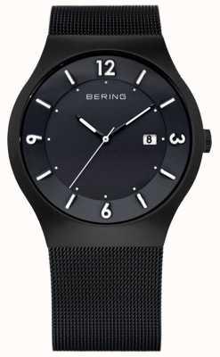 Bering Herrenuhr Edelstahl analoge Uhr des Quarzes 14440-222