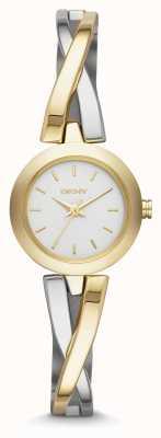 DKNY Ladies crosswalk Gold-Silber-Uhr NY2171