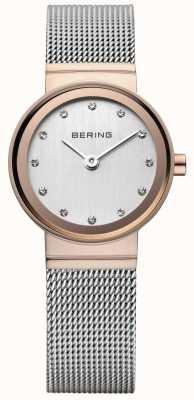 Bering Frauen klassischer Roségold-Ton Uhr 10126-066
