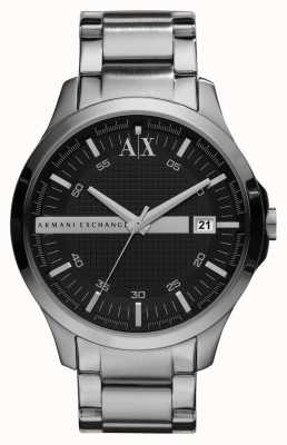Armani Exchange Herren Smart Silberton Uhr AX2103
