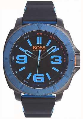 Hugo Boss Orange Mens klassische Uhr mit schwarzem Zifferblatt 1513108