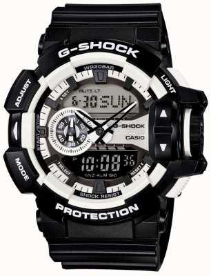 Casio Mens g-shock schwarze Uhr GA-400-1AER