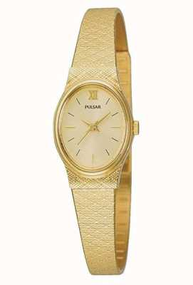 Damen Pulsar Uhr | goldenes Mesh-Armband | PK3032X1