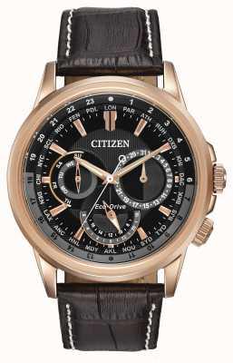 Citizen Mens calendrier stieg Ton Eco-Drive Chronograph BU2023-04E