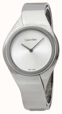 Calvin Klein Damen Edelstahl analoge Uhr des Quarzes K5N2M126