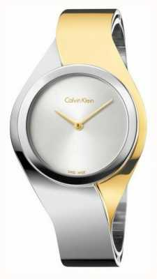 Calvin Klein Womens Sinne | Edelstahlarmband | gold / silber | K5N2S1Y6