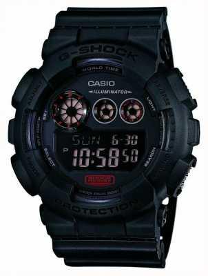 Casio Mens g-shock matt schwarz Resinarmband GD-120MB-1ER