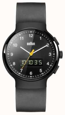 Braun Gent schwarze klassische Ana-Digi-Uhr BN0159BKBKG