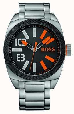 Hugo Boss Orange Gent london xxl klassische Uhr 1513114