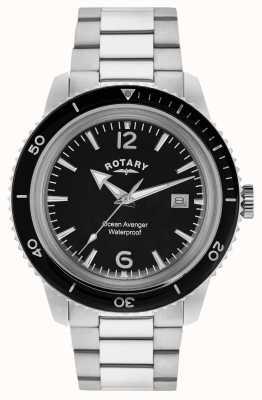 Rotary Ozean Rächer Edelstahl Herren GB02694/04