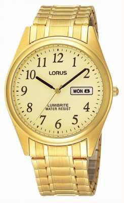 Lorus Vergoldete Gliederarmband RXN98AX9