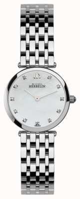 Michel Herbelin Damen Edelstahl epsilon Uhr 1045/B59