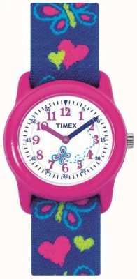Timex Kinder Kinder Schmetterling Armbanduhr T89001