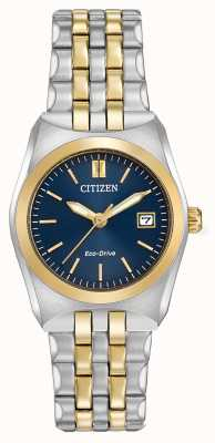 Citizen Damen Eco-Drive corso WR100 zwei Tönen EW2294-53L