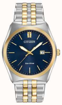 Citizen Gents Eco-Drive corso WR100 zwei Tönen BM7334-58L