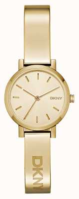 DKNY Ladies soho PVD vergoldet runde Zifferblatt NY2307