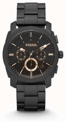 Fossil Gents Maschine schwarz PVD beschichtet FS4682