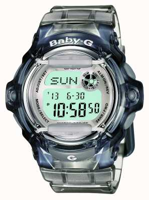 Casio Damen Baby-G transparent digital BG-169R-8ER