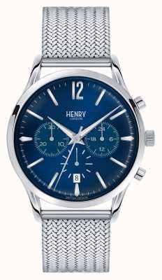 Henry London Knightsbridge Edelstahlgewebe Chrono HL41-CM-0037