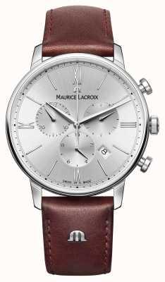 Maurice Lacroix Eliros Datum Lederband Chronograph EL1098-SS001-110-1
