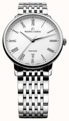 Maurice Lacroix Les classiques Tradition Herrenuhr Edelstahl LC6067-SS002-110-1