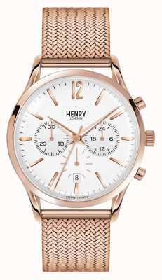 Henry London Unisex richmond Roségold PVD beschichtet HL39-CM-0034