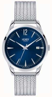 Henry London Unisex Knightsbridge aus Edelstahl HL39-M-0029