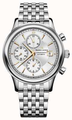 Maurice Lacroix Chronograph Automatik Datum Edelstahl LC6158-SS002-130-1