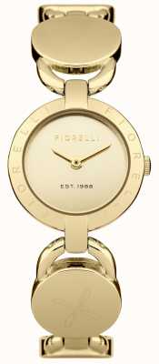 Fiorelli Frauen Goldarmband Goldzifferblatt FO001GM