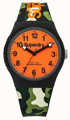 Superdry Unisex urban camo Gummiband orange Wahl SYG164NO