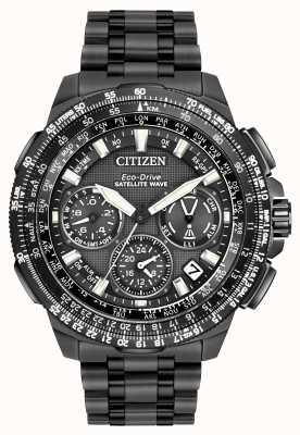Citizen Promaster Navihawk gps schwarz super Titan CC9025-85E